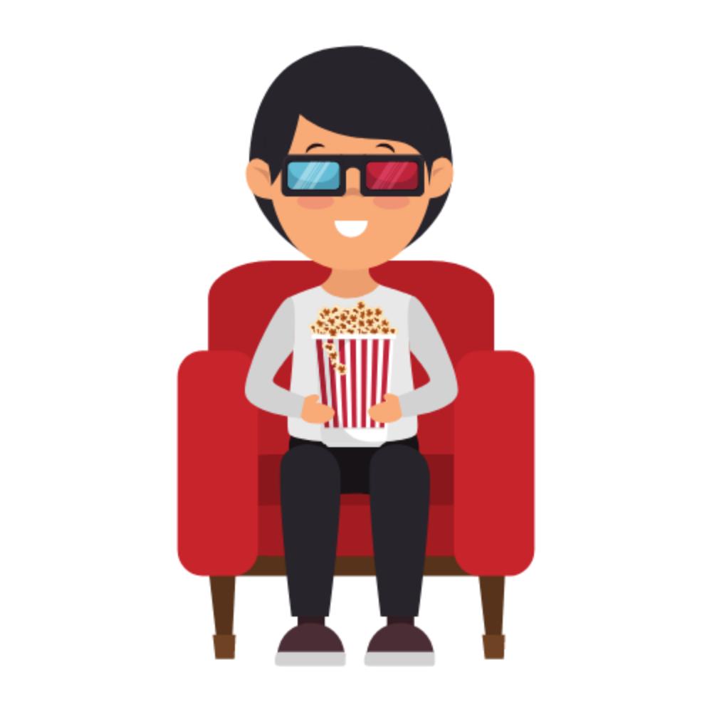 steve popcorn, la mascotte di film e dintorni!