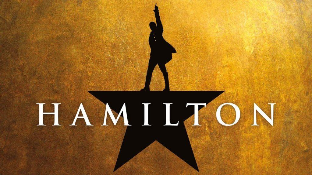 hamilton, la locandina del musical