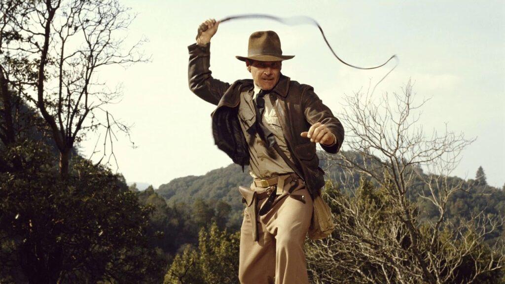 Harrison Ford in Indiana Jones di Steven Spielberg