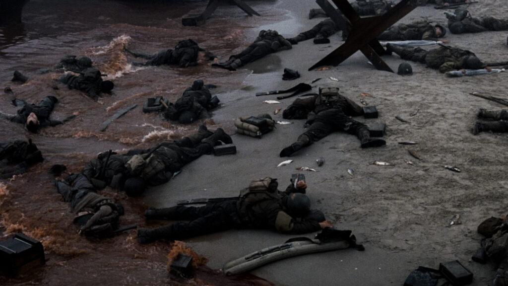 Una scena tratta da Salvate Il Soldato Ryan