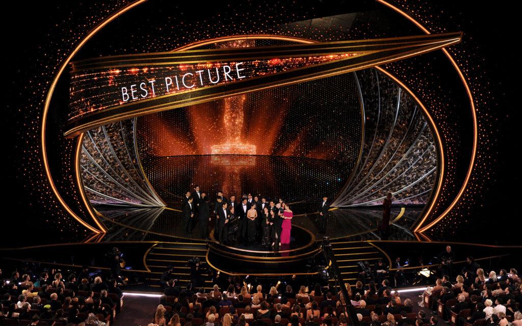 L'interno del Dolby Theatre durante la cerimonia dei premi Oscar
