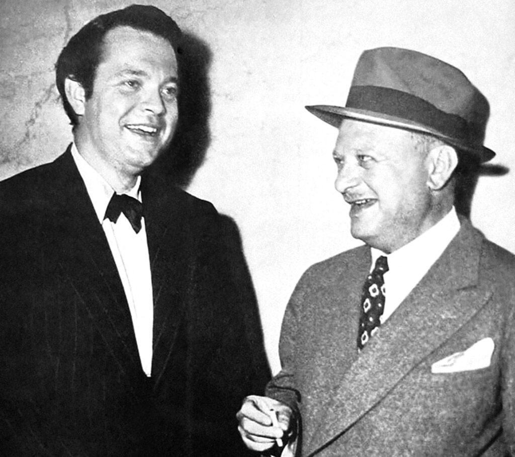 Orson Welles e Herman J. Mankiewicz