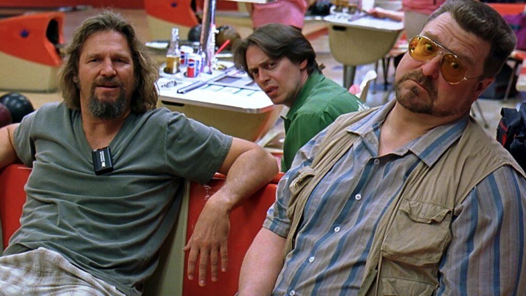"""brugo e i suoi amici al bowling ne """"il grande lebowski"""""""